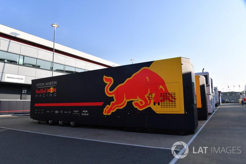Red Bull Racing tırları