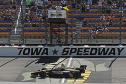 James Hinchcliffe, Schmidt Peterson Motorsports Honda toma la victoria bajo bandera amarilla