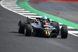 Lotus 88 en el desfile del 70 aniversario de Silverstone