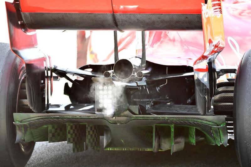 Ferrari SF71H rear