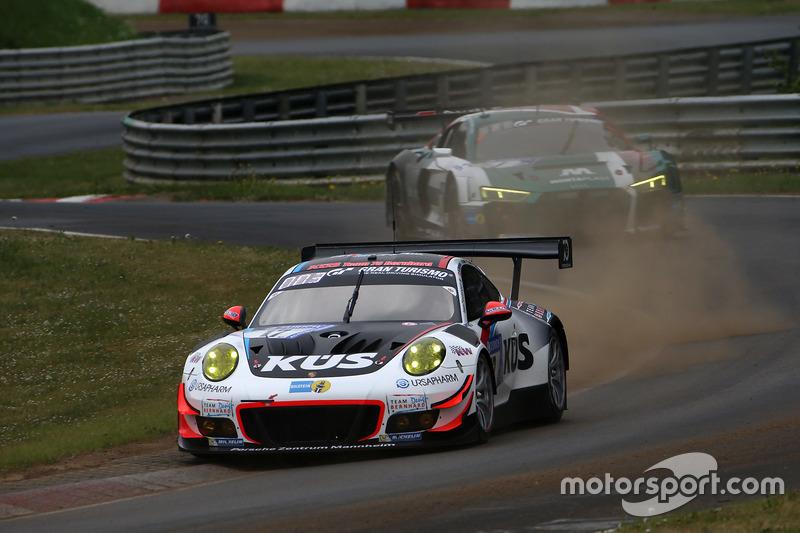 13. #17 KÜS Team75 Bernhard Porsche GT3 R: Michael Christensen, Matteo Cairoli, Andre Lotterer, Jörg Bergmeister