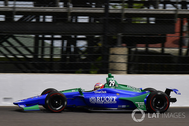 7. Carlos Munoz, Andretti Autosport, Honda