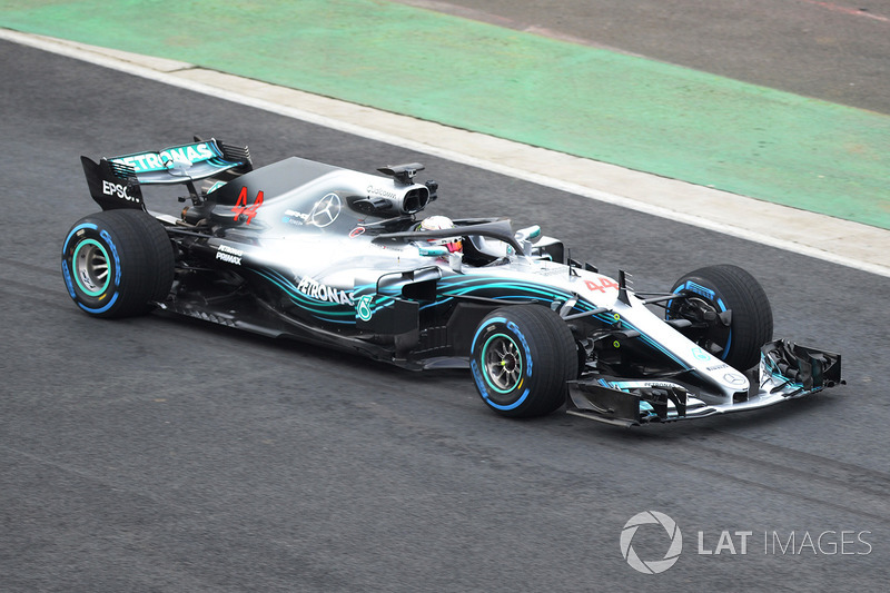 2018: Mercedes F1 W09 EQ Power+
