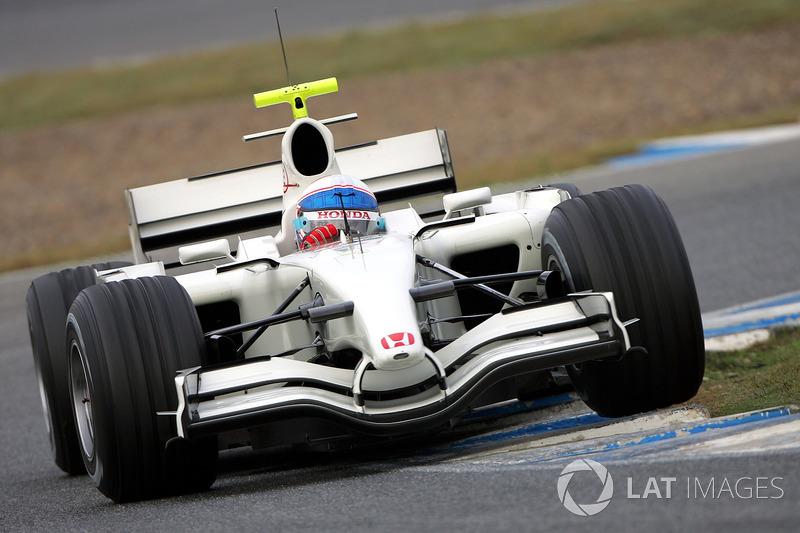 Anthony Davidson, Honda RA107
