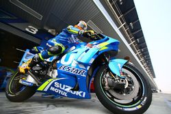 Alex Rins, Team Suzuki MotoGP con la nuova carena