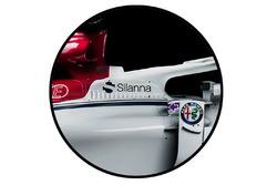 Sauber C37 yan hava girişi
