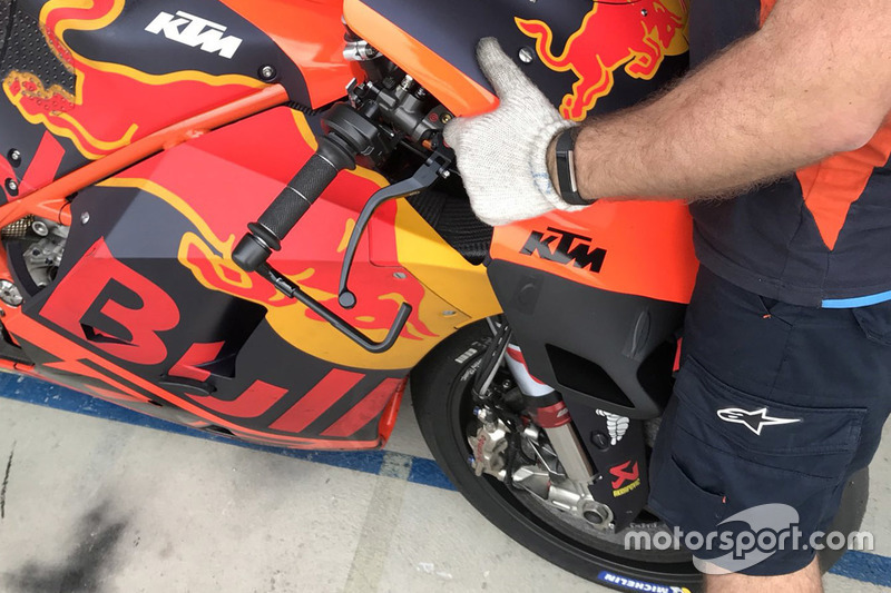 Bradley Smith, Red Bull KTM Factory Racing, nuevo carenado