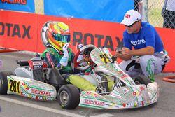 Rubens Barrichello y Eduardo