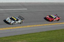 #14 Ferrari of Newport Beach Ferrari 458: Brent Lawrence, #24 Ferrari of Long Island Ferrari 458: Ca