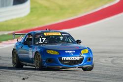 #17 Hale Motorsports Mazda Mx5: Randy Hale