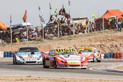 Juan Manuel Silva, Catalan Magni Motorsport Ford, Matias Rodriguez, Trotta Competicion Dodge, Lionel Ugalde, Ugalde Competicion Ford