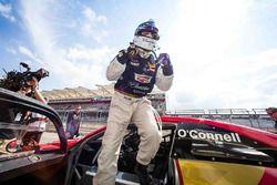 Race winner #3 Cadillac Racing Cadillac ATS-VR GT3: Johnny O'Connell