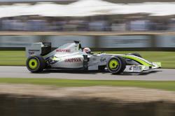 Martin Brundle im Brawn-Mercedes BGP 001