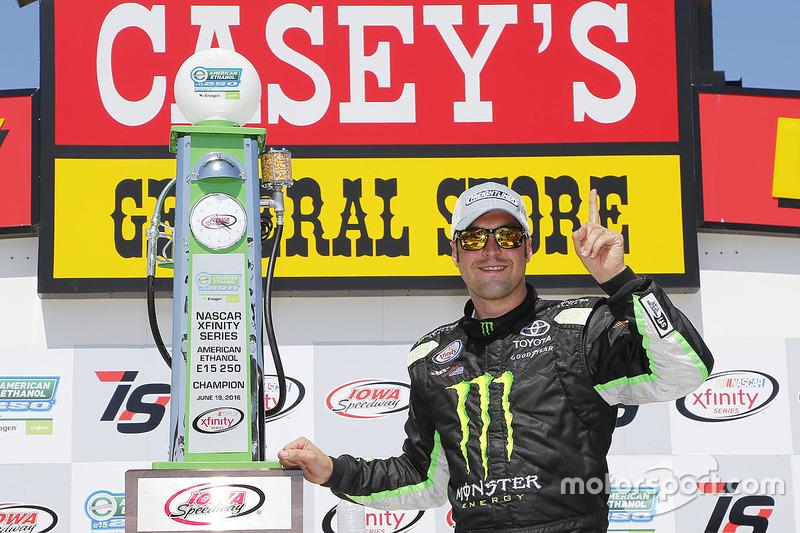 Sieger Sam Hornish Jr., Joe Gibbs Racing, Toyota