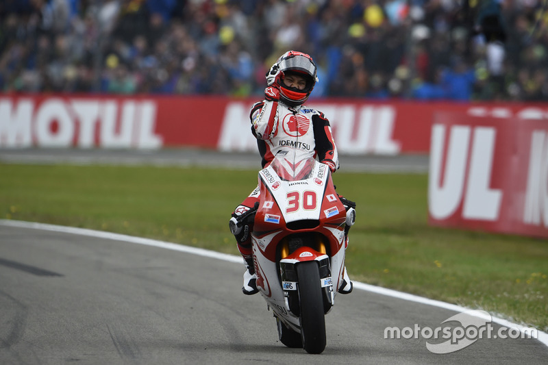 Kazanan Takaaki Nakagami, Honda Team Asia