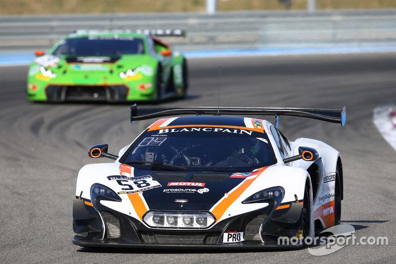 #58 Garage 59 McLaren 650S GT3: Rob Bell, Come Ledogar, Shane van Gisbergen