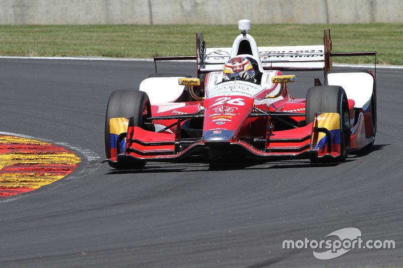 Carlos Muñoz, Andretti Autosport Honda