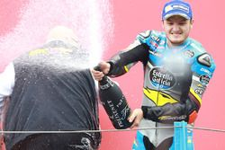 Podium: winnaar Jack Miller, Marc VDS Racing Honda