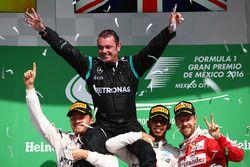 Podium: 1. Lewis Hamilton, Mercedes AMG F1; 2. Nico Rosberg, Mercedes AMG F1; 3. Sebastian Vettel, F