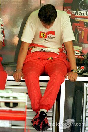 Michael Schumacher, Ferrari, şampiyonluğu kaybettikten sonra