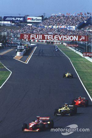 Jacques Villeneuve, Williams, Damon Hill, Jordan