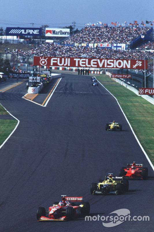 Jacques Villeneuve, Williams y Damon Hill, Jordan