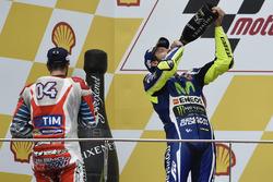 1. Andrea Dovizioso, Ducati Team: 2. Valentino Rossi, Yamaha Factory Racing