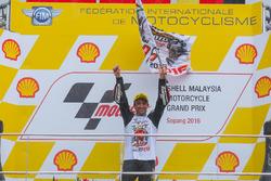 Podium: race winner Johann Zarco, Ajo Motorsport