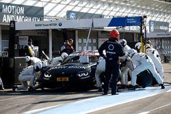 Pit stop Bruno Spengler, BMW Team MTEK, BMW M4 DTM