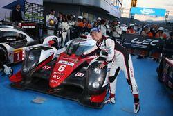 Yarış galibiKamui Kobayashi, Toyota Racing