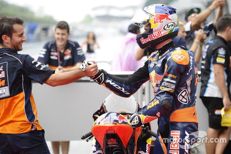 Polesitter: Brad Binder, Red Bull KTM Ajo