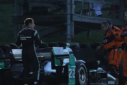 Simon Pagenaud, Team Penske Chevrolet en problemas