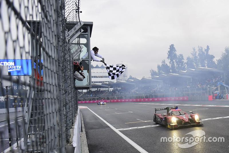 1. LMP2, #43 RGR Sport by Morand Ligier JSP2 - Nissan: Ricardo Gonzalez, Filipe Albuquerque, Bruno Senna