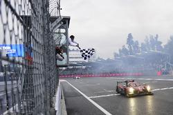 First place LMP2, #43 RGR Sport by Morand Ligier JSP2 - Nissan: Ricardo Gonzalez, Filipe Albuquerque, Bruno Senna