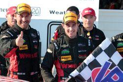 Ganadores #31 Action Express Racing Corvette DP: Eric Curran, Dane Cameron