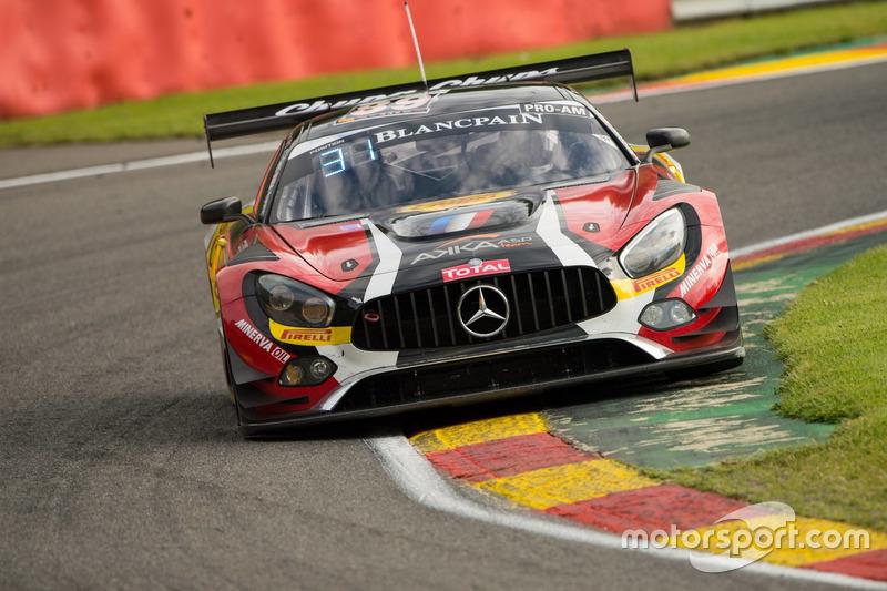 19. #89 AKKA ASP, Mercedes-AMG GT3