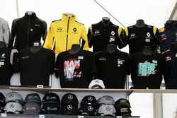 F1 Merchandise stand