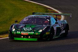 #90 AF Corse - Spirit Of Race Ferrari 458 Italia GT3: Ezequiel Perez Companc, Raffaele Giammaria, Alessandro Balzan