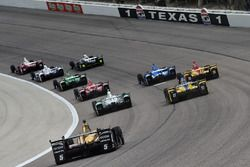 Rennaction auf dem Texas Motor Speedway