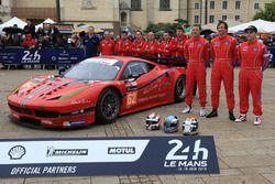 #62 Scuderia Corsa Ferrari 458 Italia: Bill Sweedler, Jeff Segal, Townsend Bell