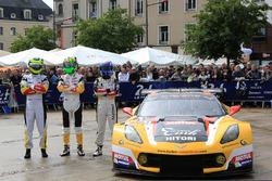Ютака Ямагиши, Пьер Раг, Ники Катсбург и Жан-Филипп Беллок, #50 Larbre Competition Chevrolet Corvett