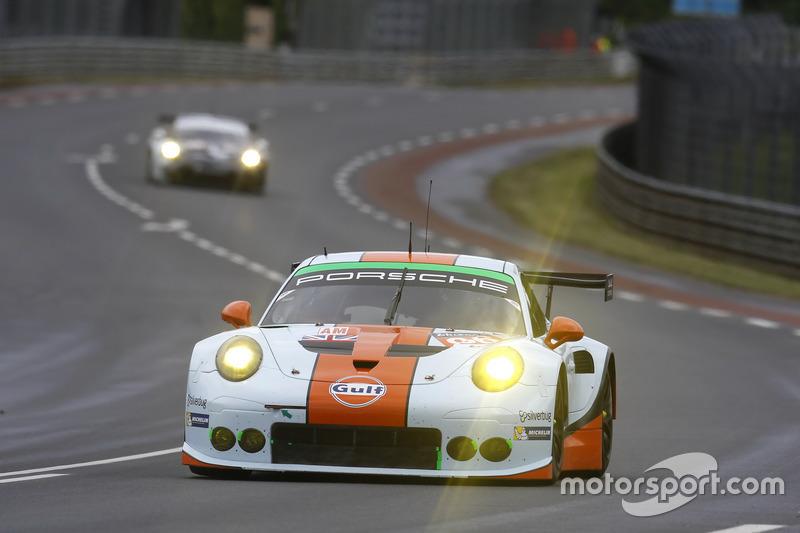 33rd: #86Gulf Racing Porsche 911 RSR: Michael Wainwright, Adam Carroll, Ben Barker