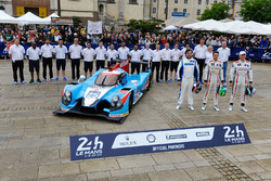 #25 Algarve Pro Racing Ligier JSP2 Nissan: Michael Munemann, Chris Hoy