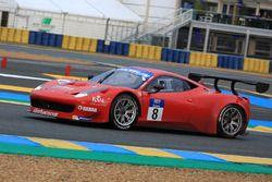 #8 Scuderia Villorba Corse Ferrari 458 Italia GT3 : Cédric Mezard, Steeve Hiesse