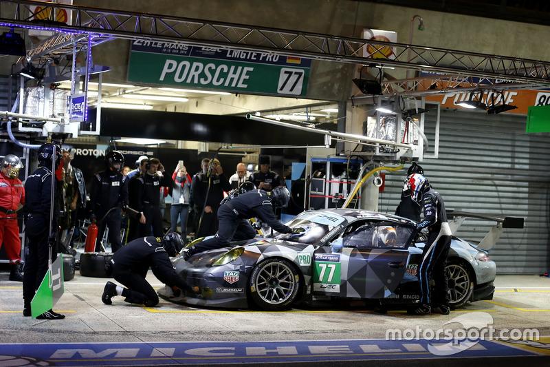 31st: #77 Dempsey Proton Competition Porsche 911 RSR: Richard Lietz, Michael Christensen, Philipp Eng