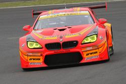 #55 Autobacs Racing Team Aguri, BMW M6 GT3: Shinichi Takagi, Takashi Kobayashi