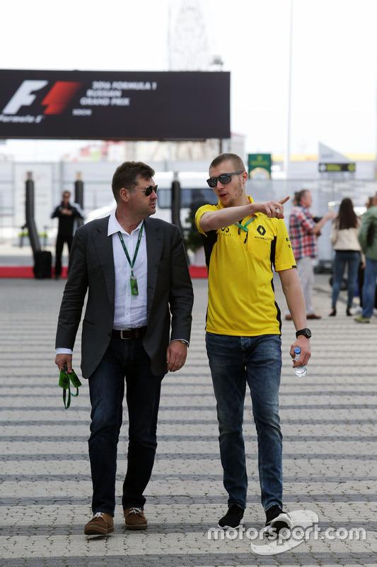 Сергей Сироткин, тестовый пилот Renault Sport F1 Team