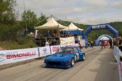 Partenza: Manuel Dondi, Fiat X 1/9 #45, CST Sport