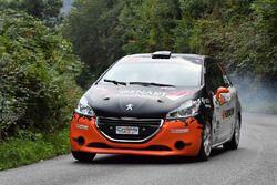Andrea Vineis, Alessio Rodi Peugeot 208 R2B #16