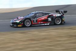 #11 Kessel Racing Ferrari 458 Italia GT3: Michal Broniszewski, Andrea Rizzoli, Alessandro Bonacini